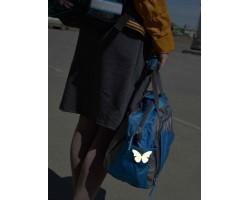 """Световозвращатель """"Бабочка желтая"""" (подвеска)"""