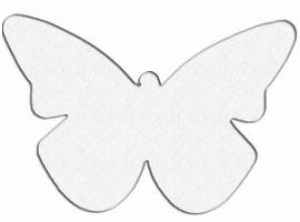 """Световозвращатель """"Бабочка"""" (значок)"""