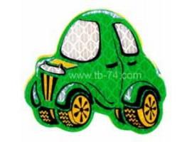 """Световозвращатель """"Машинка детская зеленая"""" (значок)"""