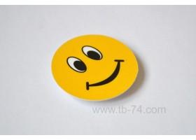 """Световозвращатель """"Смайл улыбка"""" (значок)"""