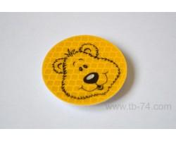 """Световозвращатель """"Медвежонок"""" (значок)"""