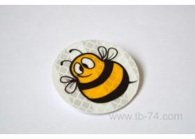 """Световозвращатель """"Пчела"""" (значок)"""
