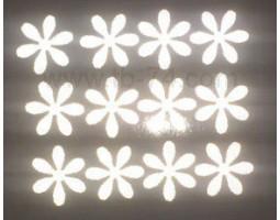 """Световозращающие наклейки """"Набор цветов"""" (Белый)"""